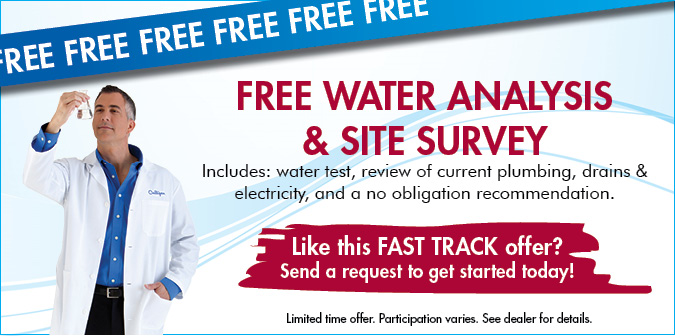 Free Water Analysis & Site Survey